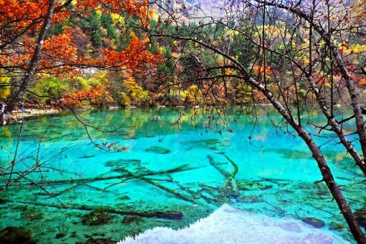 Wuhua Hai, Five-Flower Lake in China