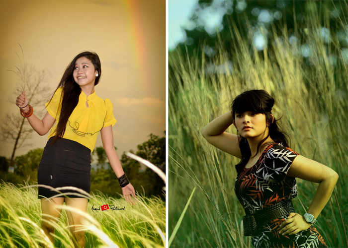 Referensi hunting foto model di ilalang foto hunting dan prewedding
