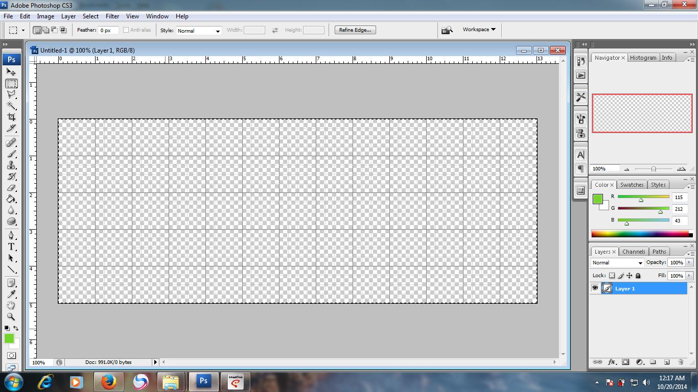 Cara merubah warna background pas foto dengan photoshop cs4 15