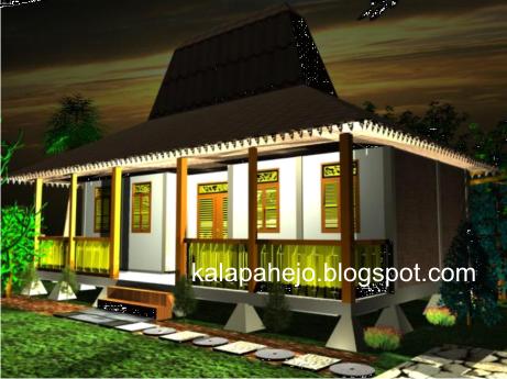 Struktur dan Bentuk Atap Rumah Betawi