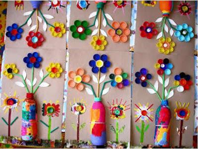 Hiasan ruang kelas taman kanak kanak contoh hiasan kelas for Mural untuk taska