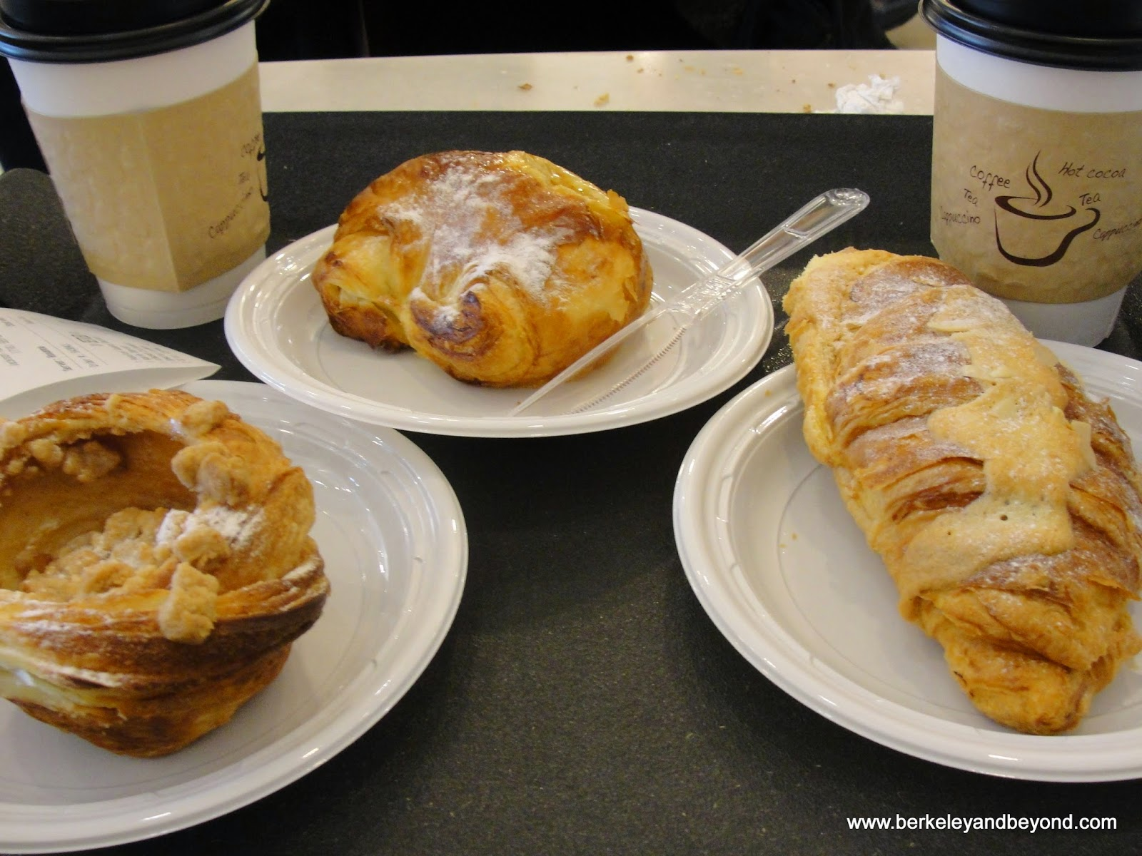 pastries at Cannelle Patisserie in Jackson Heights, Queens, New York