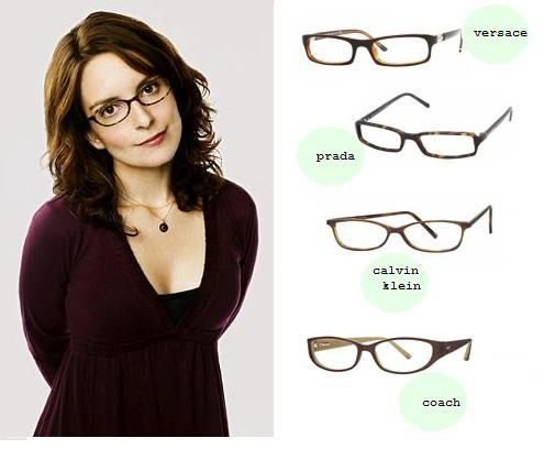 Does Tina Fey Wear Glasses