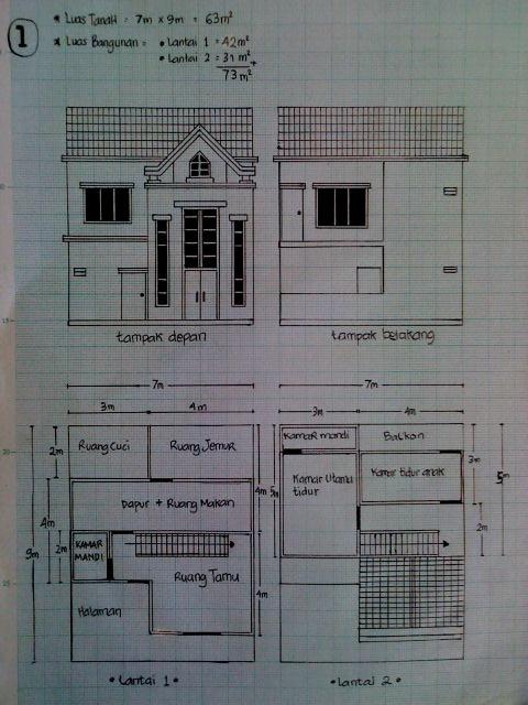 welcome rumah minimalis 7x9 meter