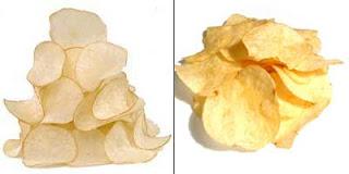 Kripik singkong vs Potato Chips