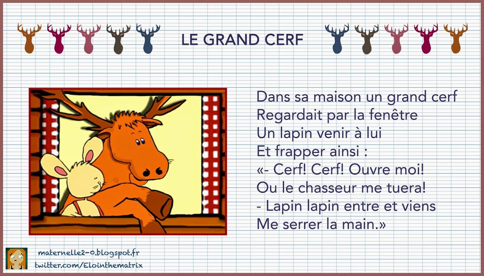 Le grand cerf for A la fenetre sarthoise