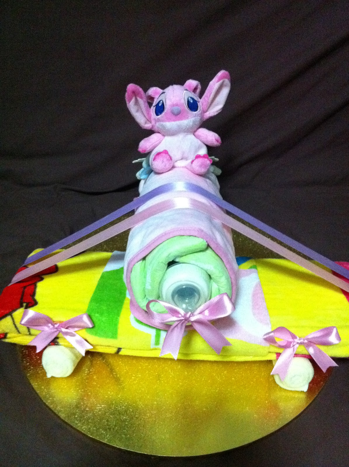 Baby Gift Creations : Nurie s creations diaper cakes baby gifts airplane