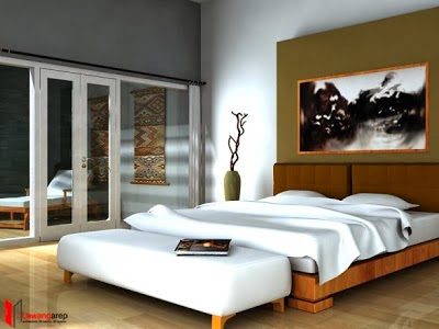 inspirasi interior kamar tidur minimalis terbaru contoh