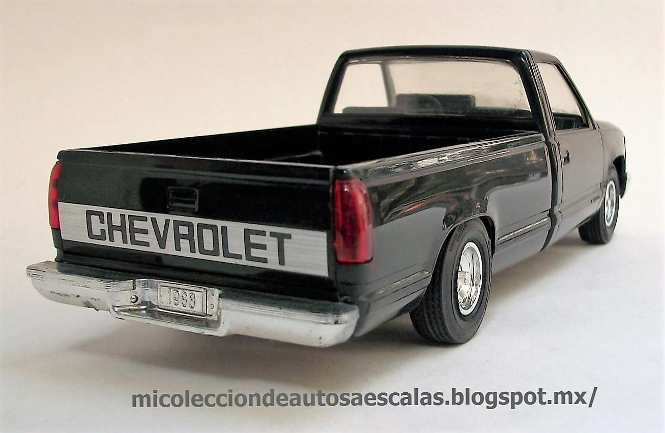 Mi Coleccin De Autos A Escala 1988 Chevrolet Silverado 1500 1951 1953 Pickup Jada