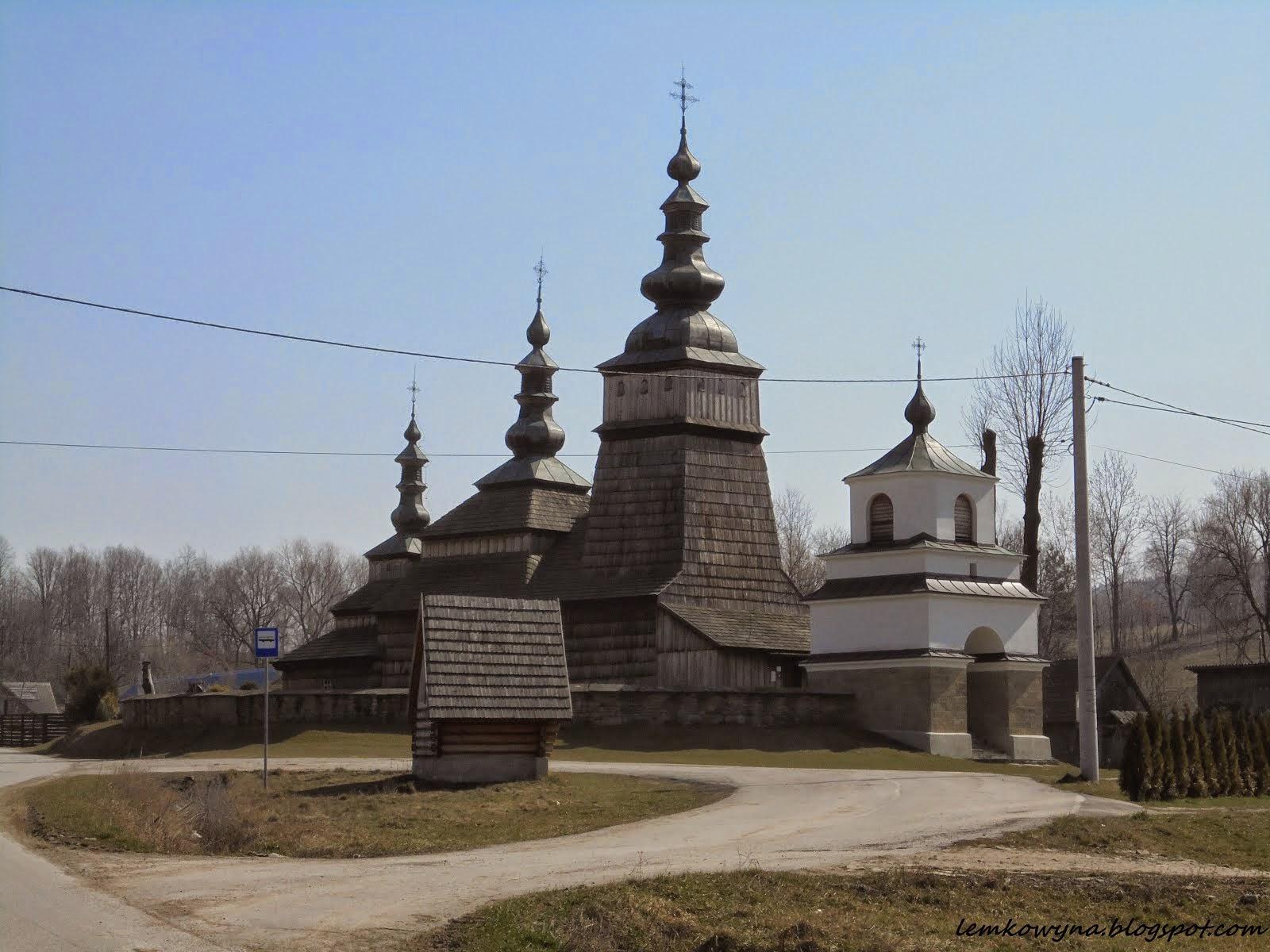 Owczary. Cerkiew opieki Bogurodzicy