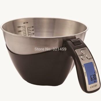 Balanza Electrónica Bowl con Medición