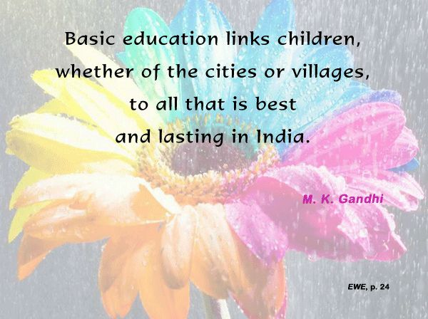 Thought For The Day ( BASIC EDUCATION )