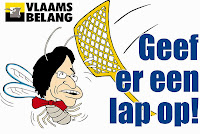 The latest campaign by opposition party Vlaams Belang is cringeworthy