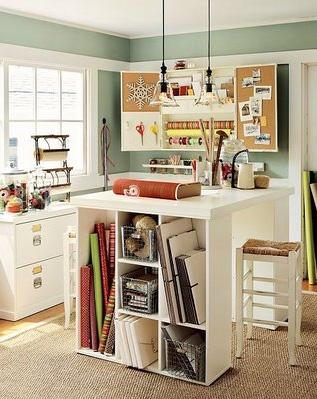 craftroom1 793451 Sewing Craft Room Ideas