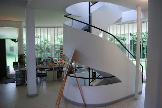 Escalera Villa Savoie