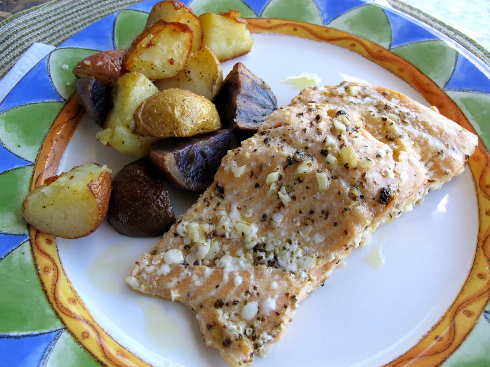 here is another recipe with the fresh steelhead trouts that my dad ...