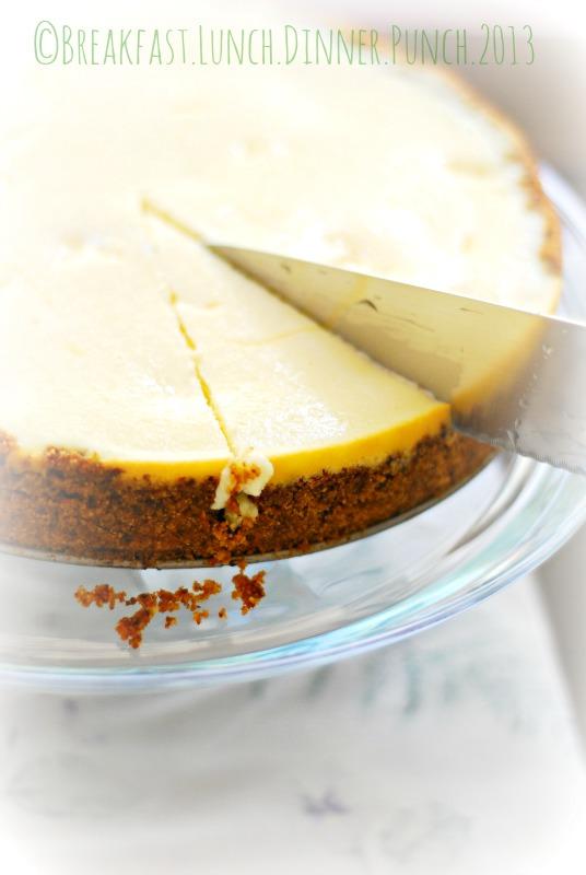 Lemon Cheesecake with Pistachio Nut Crust (Gluten Free)