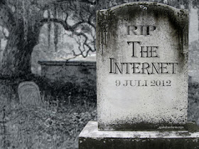 foto lambang internet kiamat