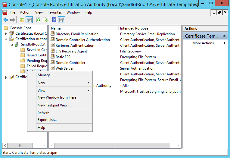 Scom certificate for gateways untrusted servers system center find the computer template right click it and select duplicate template yelopaper Image collections