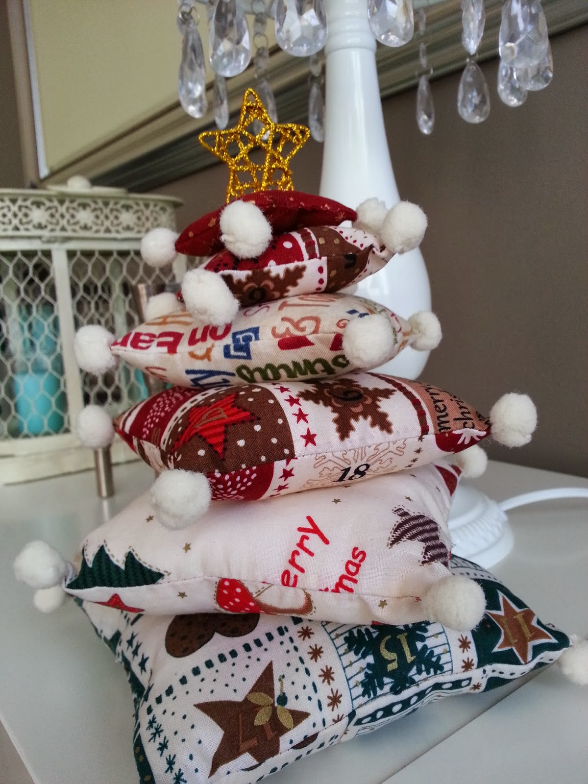 Con encanto hazlo tu mismo diy arbol de navidad - Arbol navidad leroy ...
