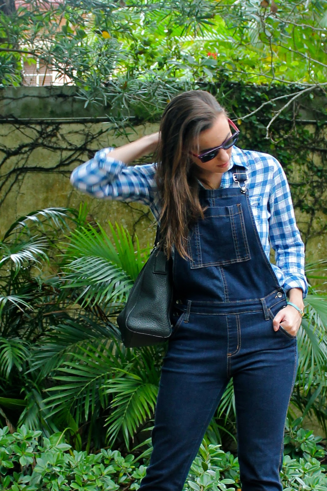 AGAPE Boutique, Abercrombie & Fitch, Kate Spade, Ray-Ban, overalls, fall fashion, winter fashion, outfit idea, Nine West, Miami fashion blogger, Miami fashion, fashion blogger, style blog