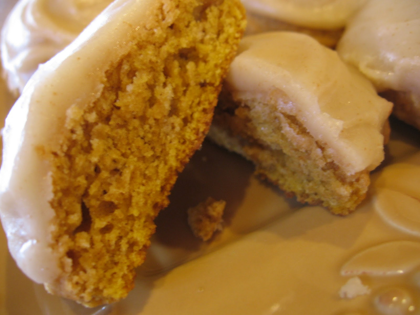 cookin' up north: Pumpkin Cookies with Browned Butter Frosting, 12 ...