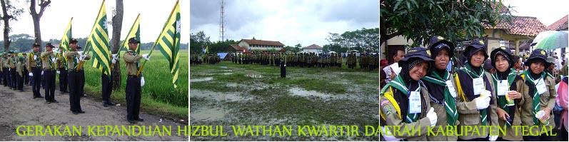 Hizbul Wathan Kwarda Kabupaten Tegal