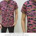 Baju Distro & Baju Kemeja Pink Art