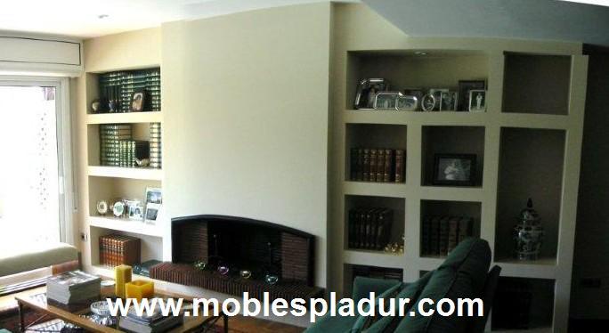 Pladur barcelona chimenea pladur - Estanterias pladur ...