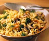 Orzo-Broccoli Pilaf