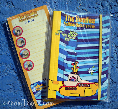 We All Live In A Yellow Submarine Notebook