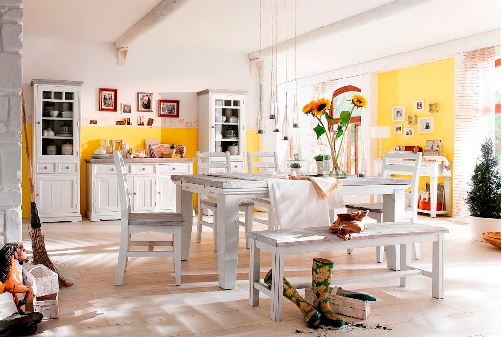 Landhausstil Möbel in weiß hellen deine Räume auf - allegretta