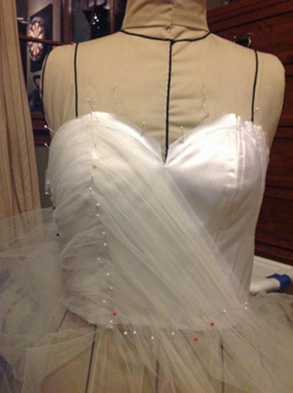Sew Beautiful Blog: Choosing Fabric for a Wedding Dress
