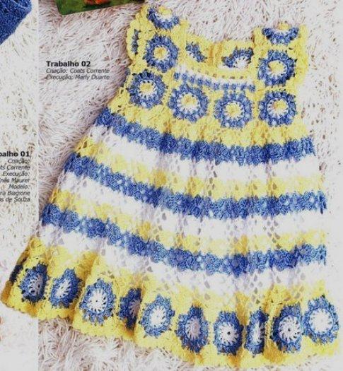 DE MIS MANOS TEJIDOS Y MAS...: Vestidos para niñas