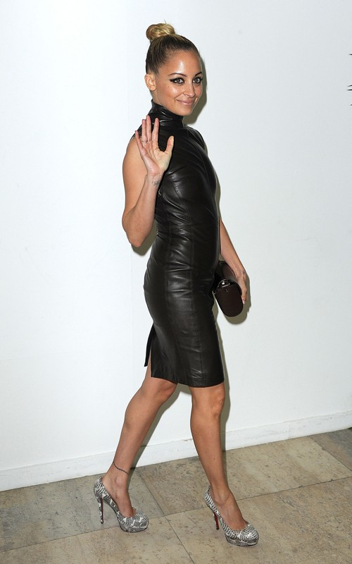 Nicole Richie News Nicole Richie Attends Givenchy Rtw Aw11 Show