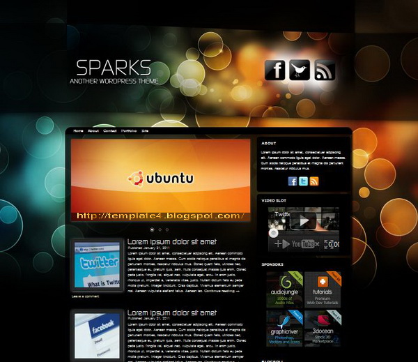Sparks WordPress Theme