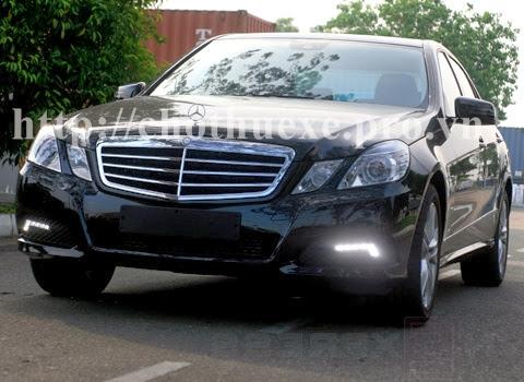Cho thuê xe Mercedes E250 hạng sang tại Hà Nội