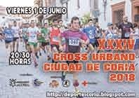 """XXXIV CROSS URBANO """"CIUDAD DE CORIA"""""""