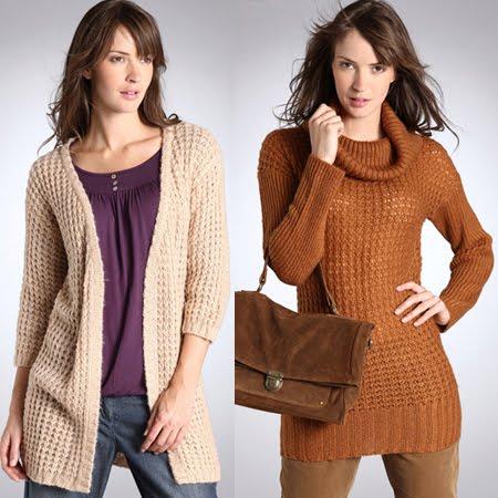 Дамски плетени дрехи