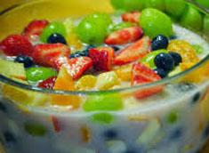 resep menu minuman buka puasa es buah spesial sedap, nikmat, legit
