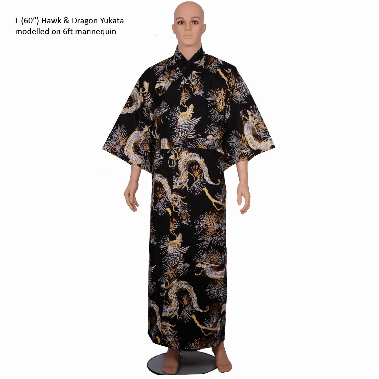 Popular men's kimono