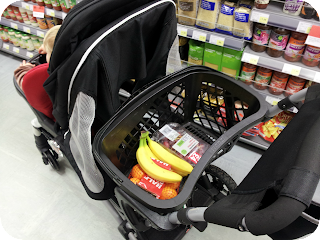 joovy ergo caboose review, pushchair shopping trolley