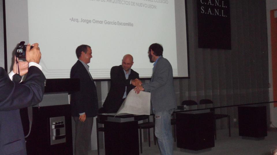 Prof jorge garcia escamilla collegiate architect - Colegio arquitectos leon ...