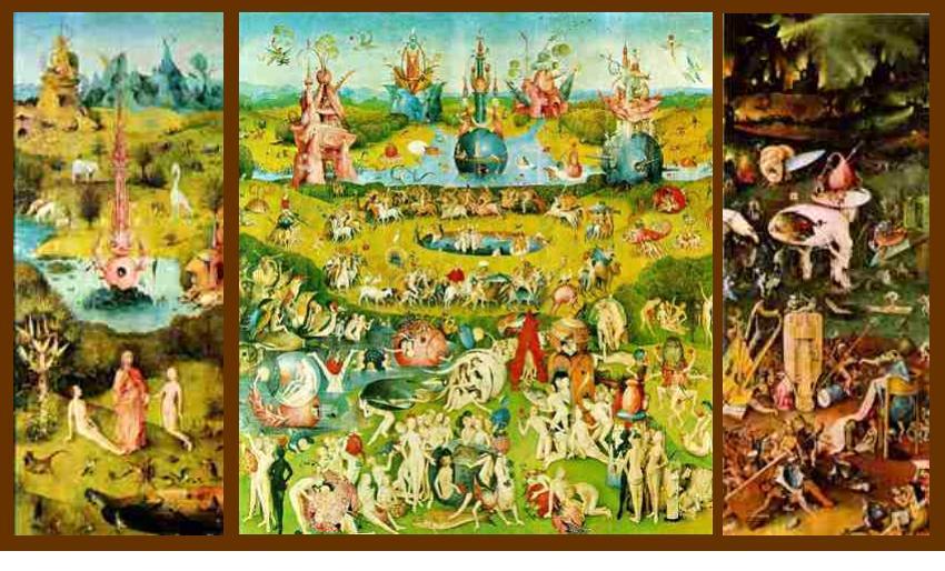 Il giardino delle delizie di bosch semplicemente io - Il giardino delle delizie bosch ...