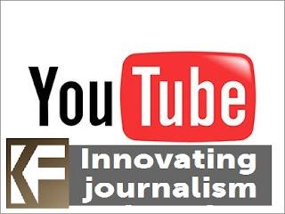 YouTube con canal de Periodismo