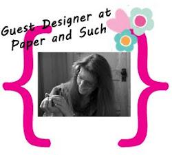 Guest Designer July 2012