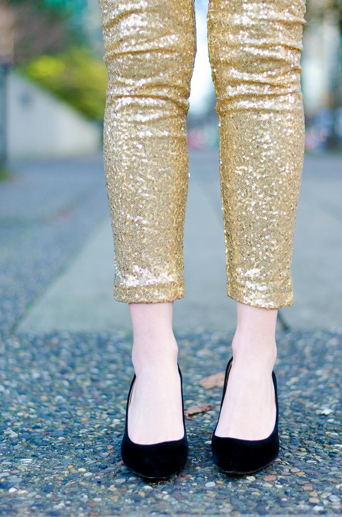 How to Wear Sequin Pants
