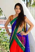 Santoshi sharma half saree pics-thumbnail-9