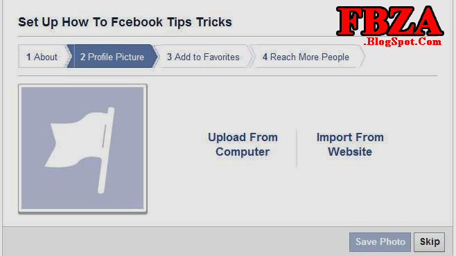 How To Make A Facebook Page image photo