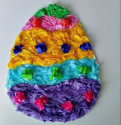 аппликация пасхальное яйцо
